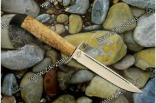 Финка Вачинская (рукоять карельская береза, текстолит)