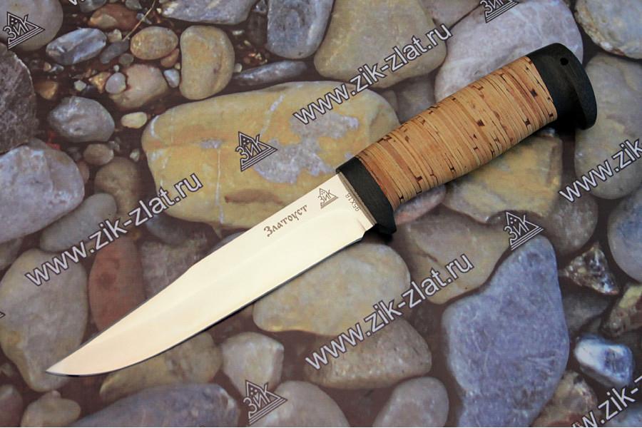 "Нож туристический ""Гвардия"" (береста, текстолит)"