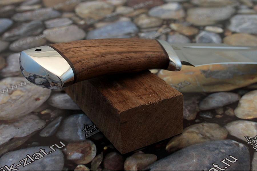 """Нож туристический """"Кондор"""" рукоять орех, алюминий"""