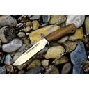 Нож туристический Кондор-М (орех, алюминий)