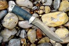 Морской волк Дамаск (стаб. карельская береза, алюминий)