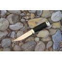 Туристический нож Пустельга-2 (кожа, алюминий)