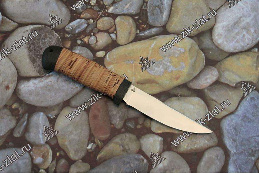 Туристический нож Пустельга-2 береста текстолит