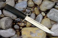 Нож разведчика (кожа, текстолит)